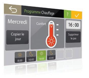Domotique Programme Chauffage